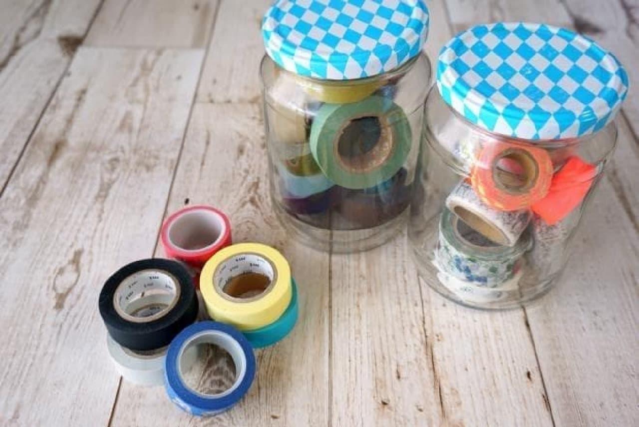 100均で買えるマスキングテープの収納グッズ