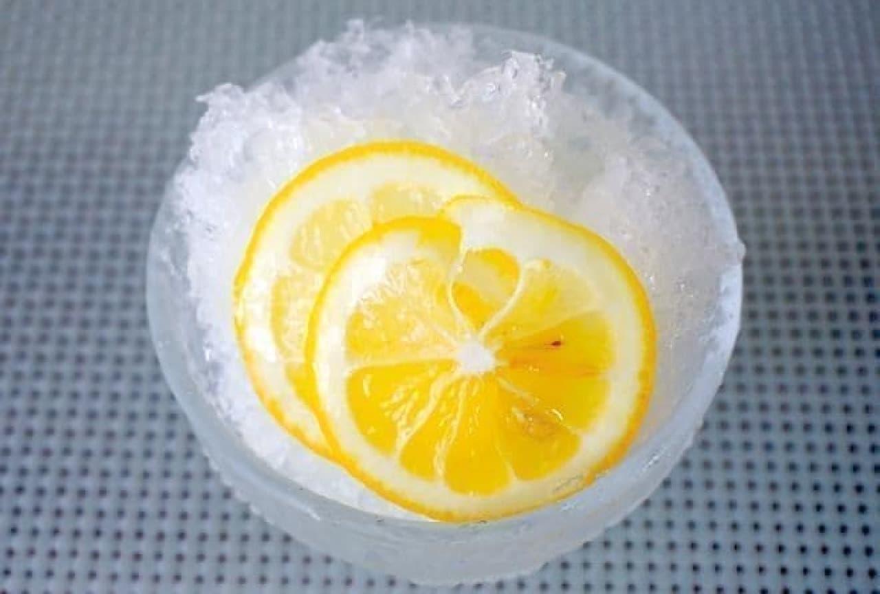 レモンのカルピス漬け