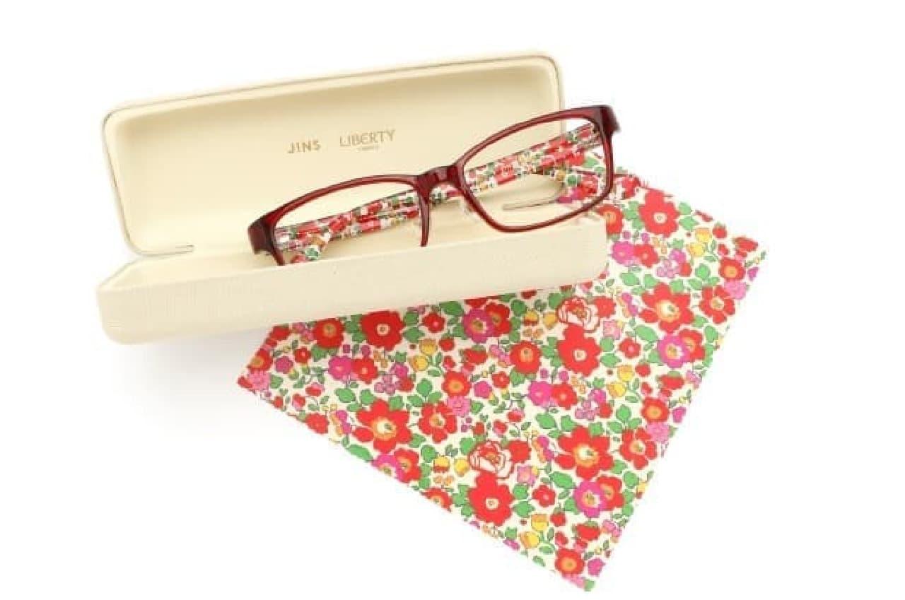 JINS×LIBERTY FABRICS(リバティ・ファブリックス)メガネ
