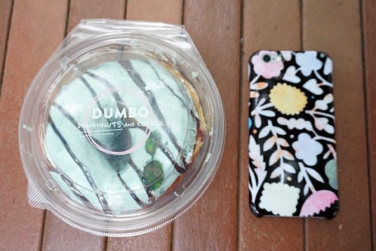 麻布十番「DUMBO」のチョコミントドーナツ