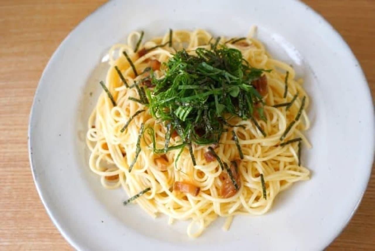 「揖保乃糸」のパスタと中華麺