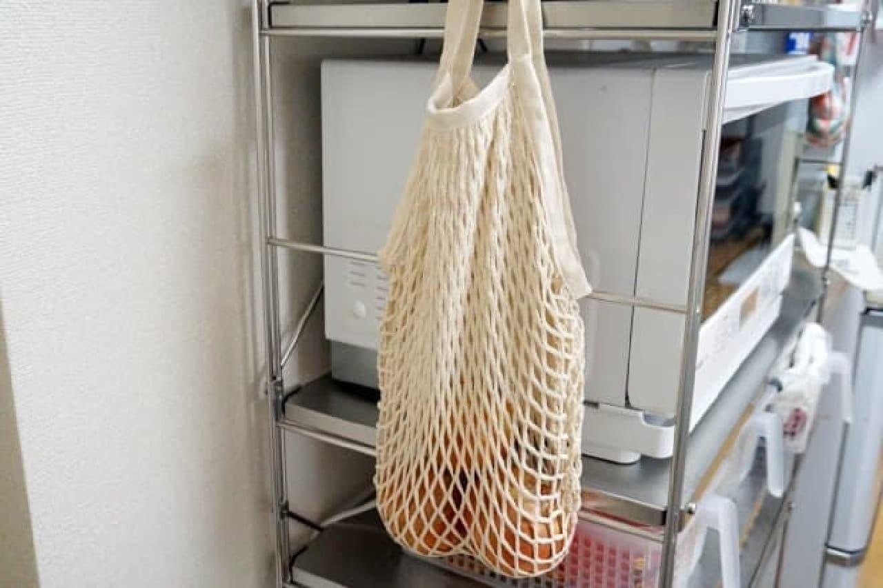 メッシュバッグの活用法