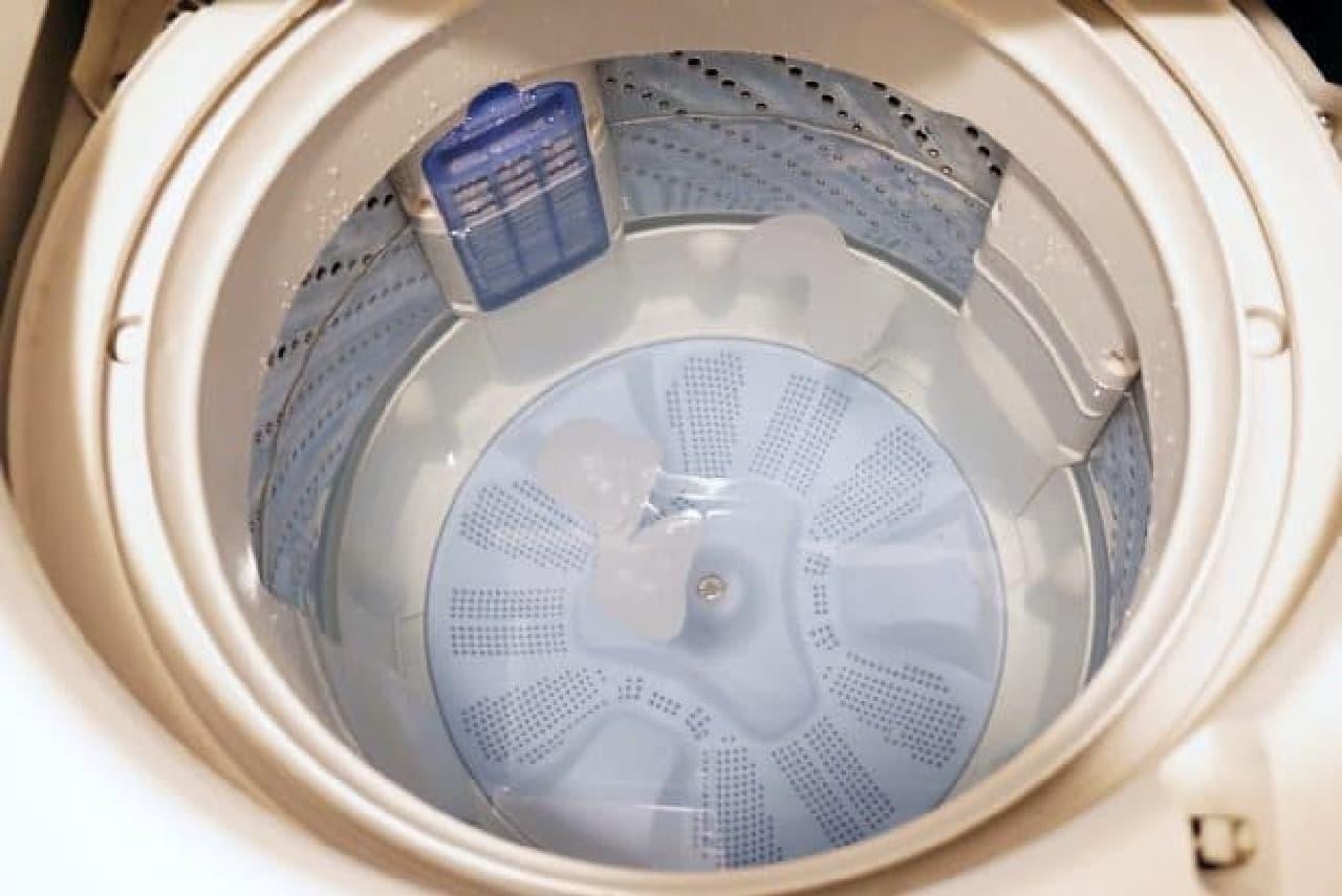 100均の洗濯槽クリーナー