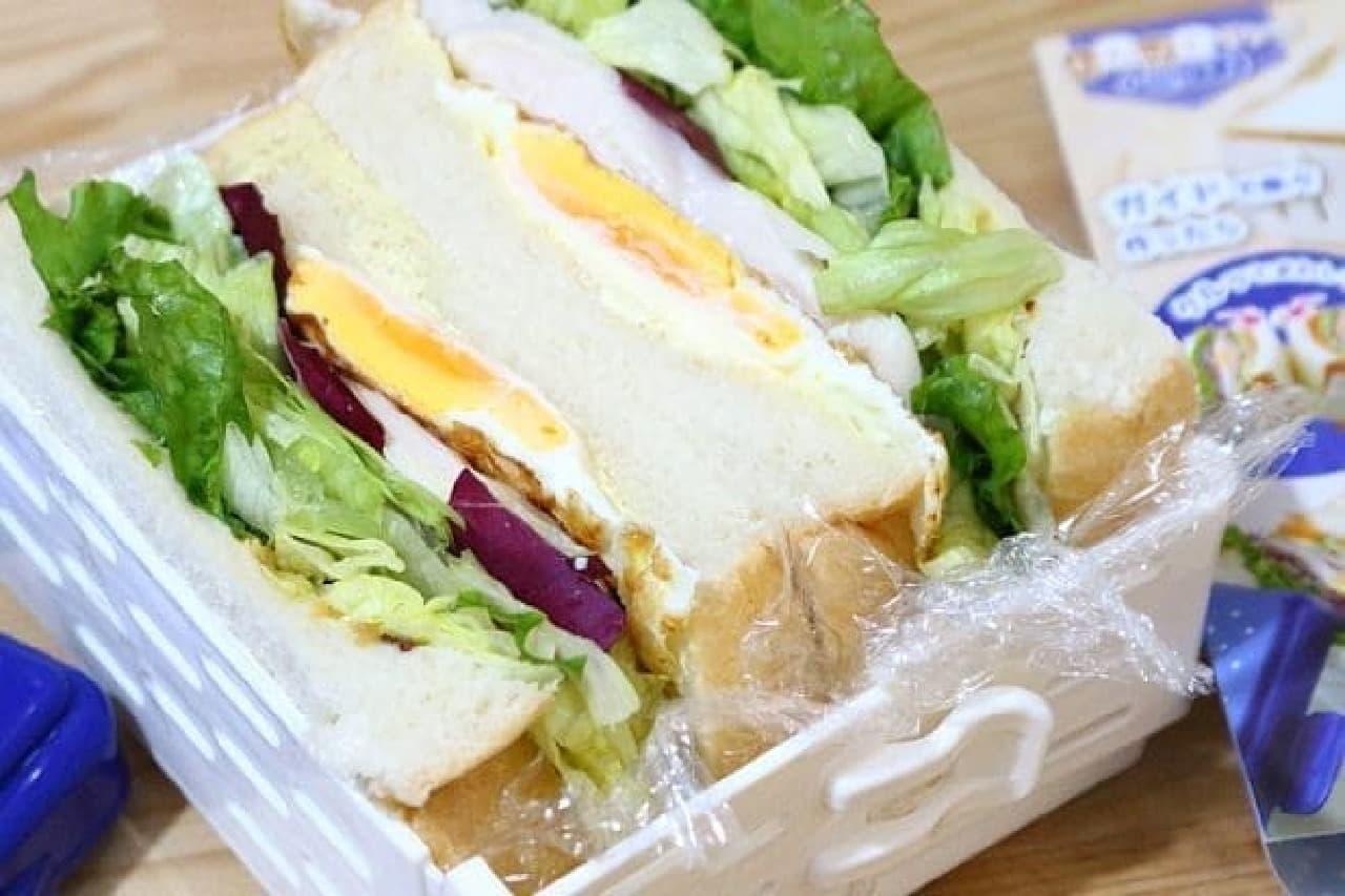 サンドイッチ用ケースのわんぱくサンドMogu×2(モグモグ)