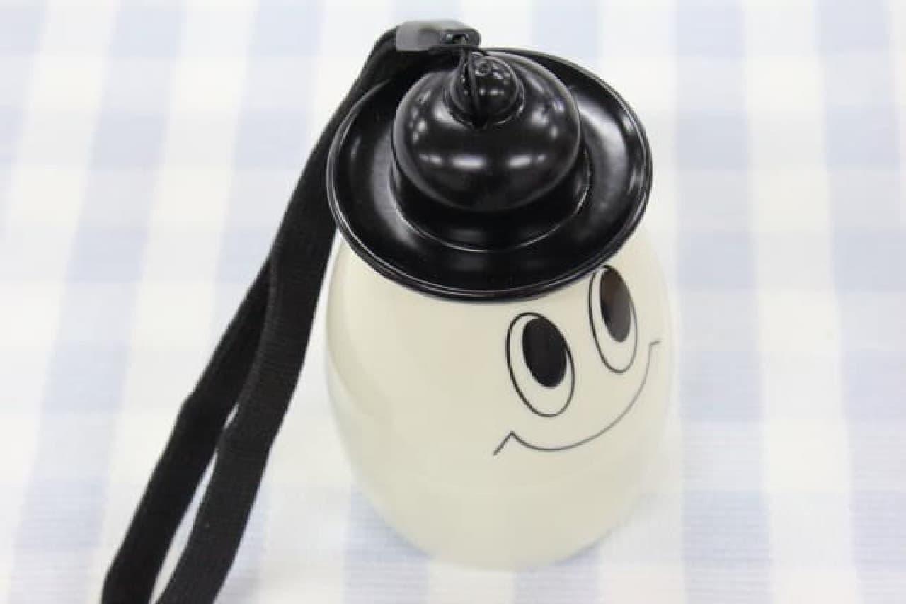 ゆで卵を持ち運ぶためのケース「ゆでたまごホルダー おばけ」