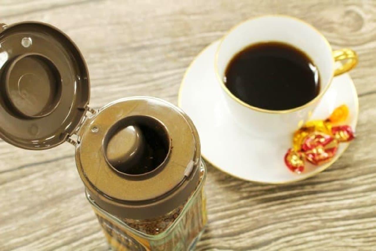ダイソー「インスタントコーヒーキャップ」