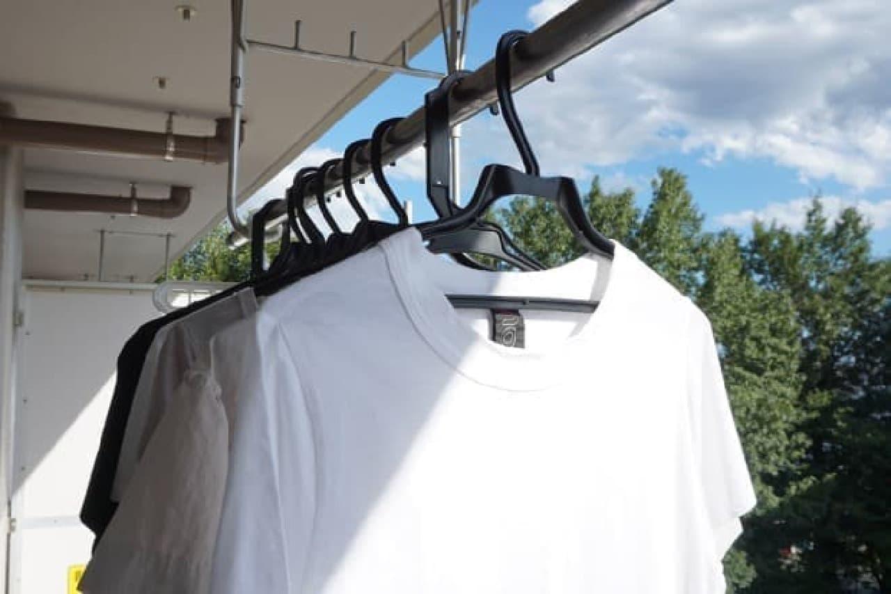 夏服の衣替えテクニック
