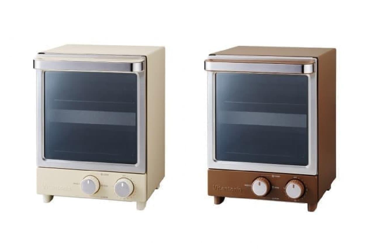 Vitantonio(ビタントニオ)の縦型オーブントースターと全自動コーヒーメーカー
