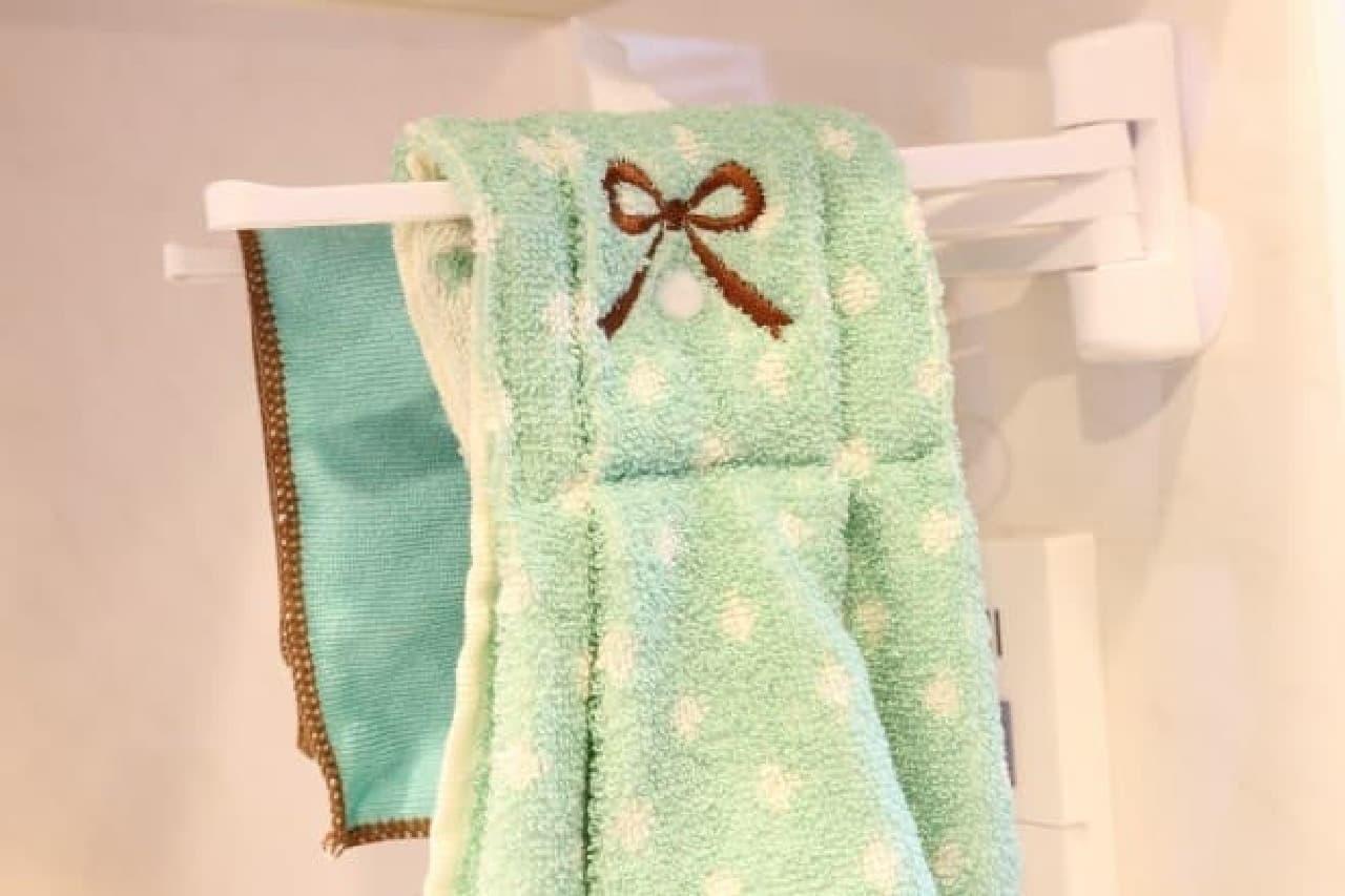 300円ショップ「MODA300+'」の可愛いドレス型タオル
