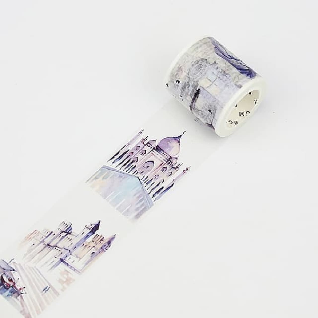 「旅するマスキングテープ」がヴィレヴァンオンラインに
