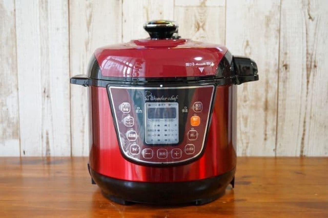 電気圧力鍋ワンダーシェフOEDA30
