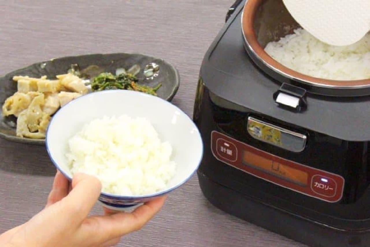 アイリスオーヤマ「銘柄量り炊きIHジャー炊飯器」