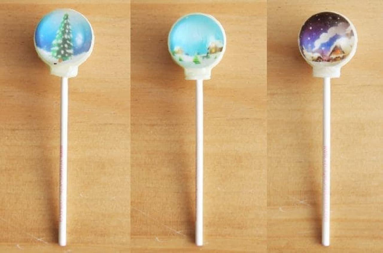 Vintage Confections(ヴィンテージ・コンフェクション)スノードームキャンディ