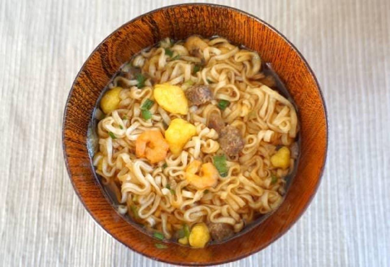 日清食品「お椀で食べるカップヌードル」