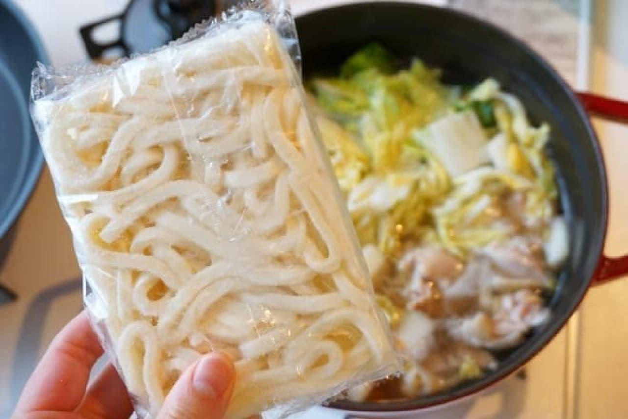 ヤマキ「うどん寄せ鍋つゆ」