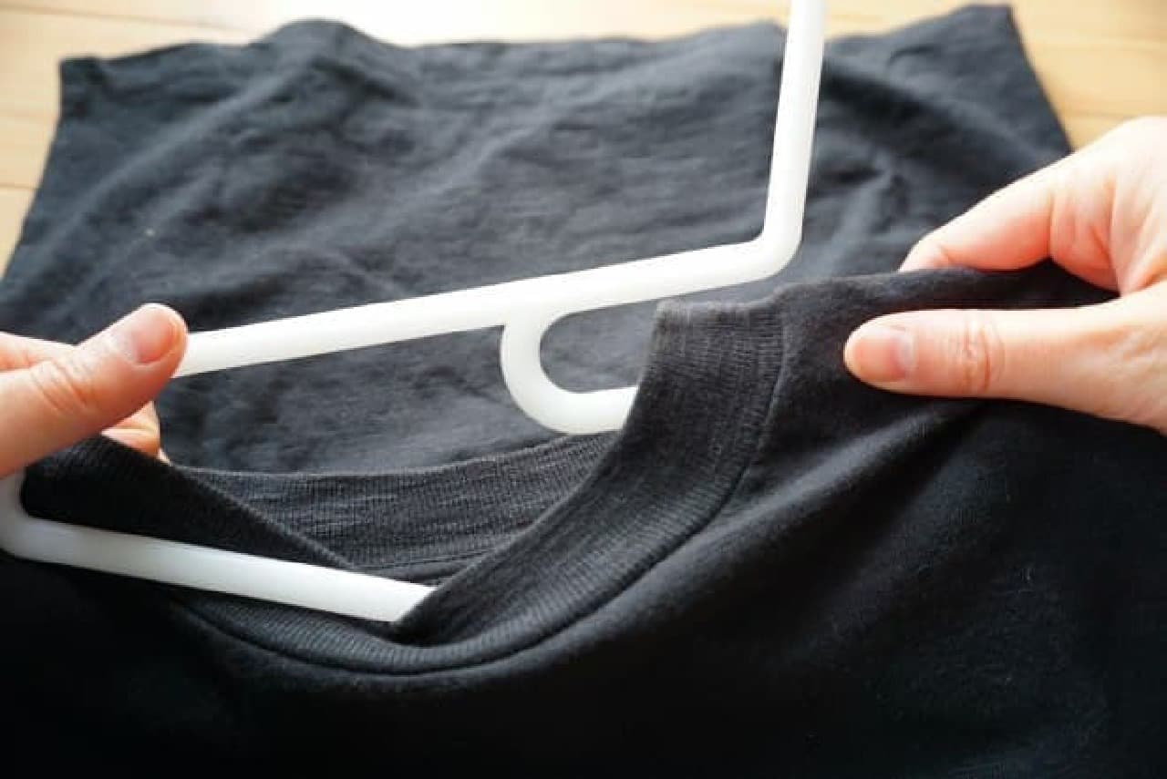 無印良品「ポリプロピレン洗濯用ハンガー・シャツ用」