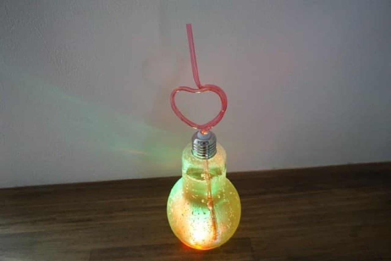 キャンドゥ「イルミネーション電球ボトル」