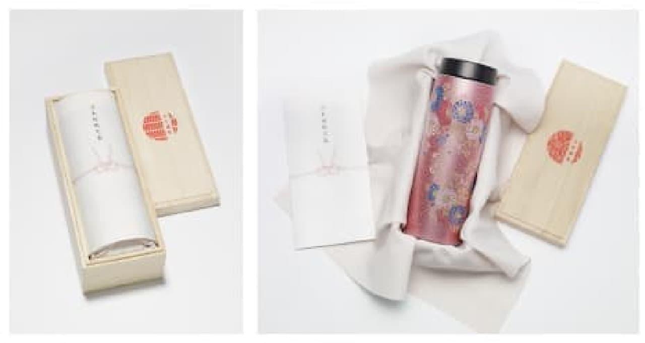 タイガー魔法瓶から日本の伝統美をデザインしたステンレスボトル
