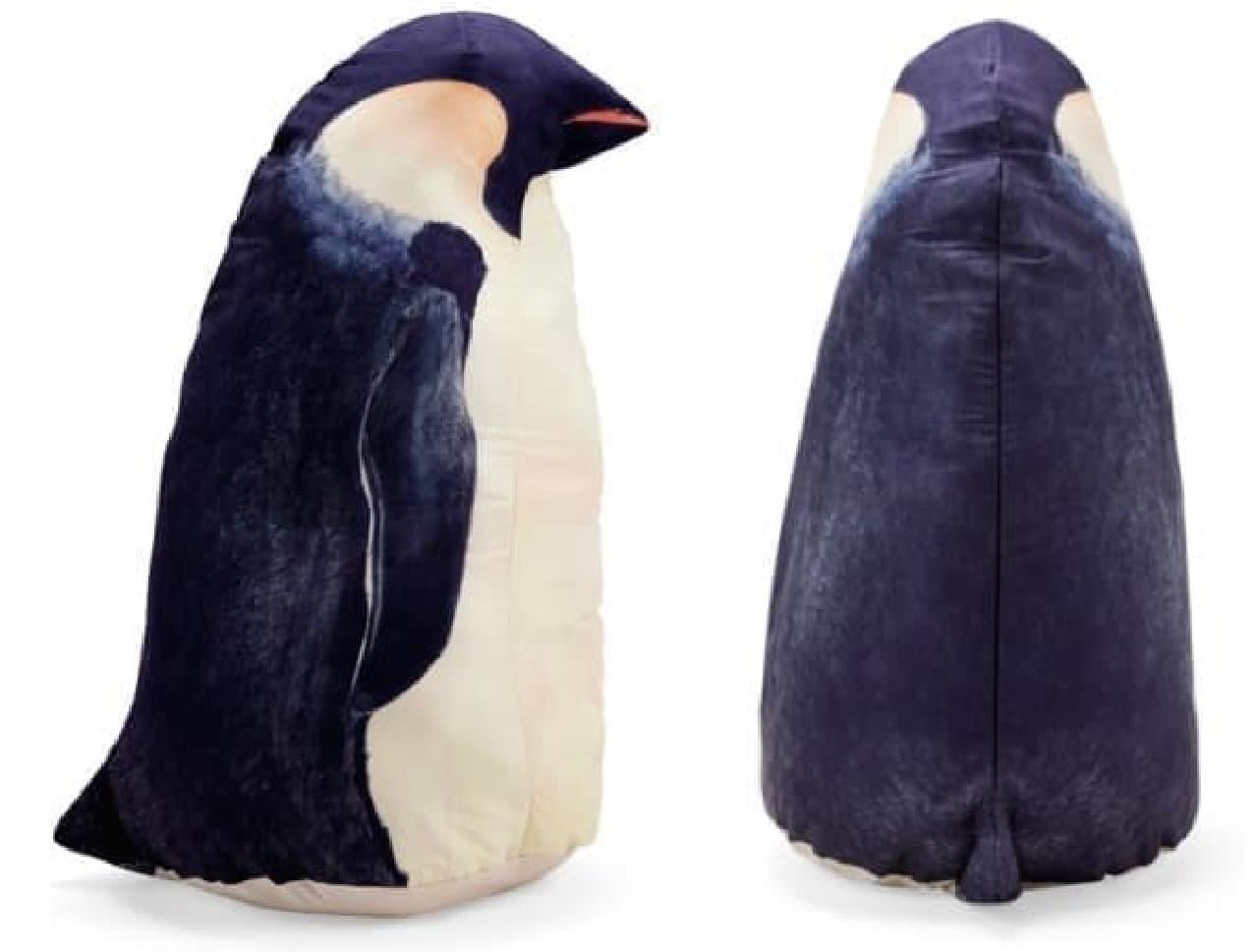 布団収納ケース「自立するペンギンクッションケース」