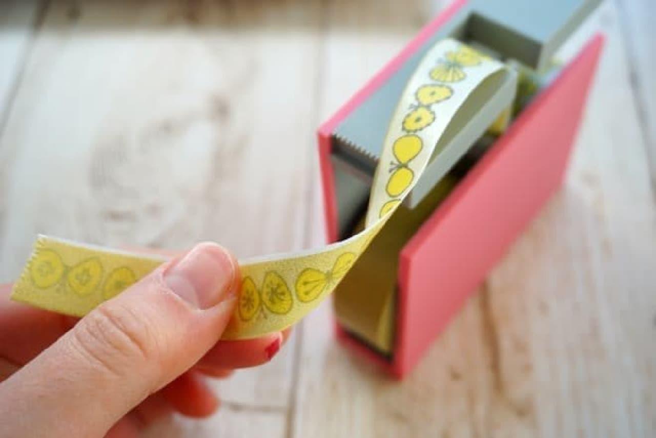 マスキングテープでふせんが作れるテープカッター「mt tape cutter twins」