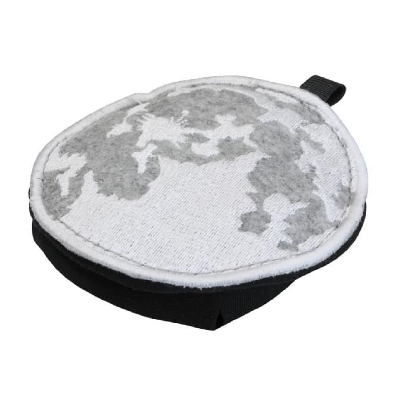 月と地球をデザインしたエコバッグ「Moon Eco Bag」がビクセンから
