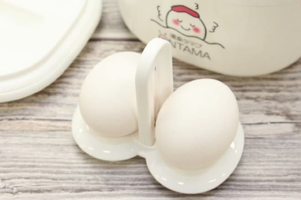 温泉卵用調理器具「seiei 温玉ごっこ」