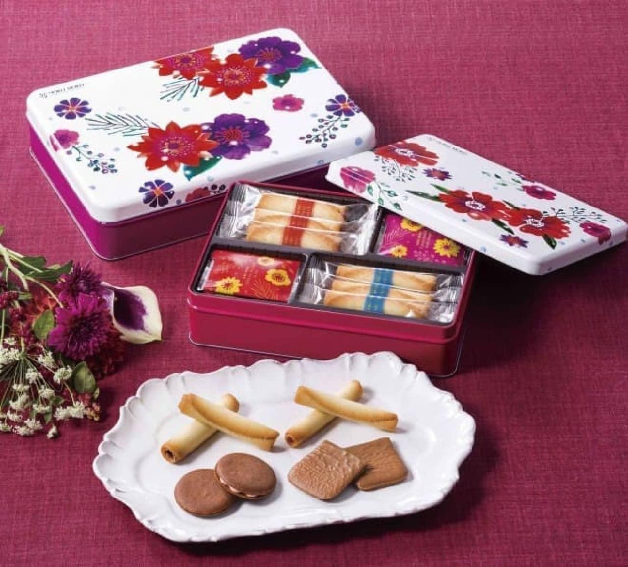 ヨックモックに冬季限定のクッキー詰め合わせ「カドー ドゥ リベール」