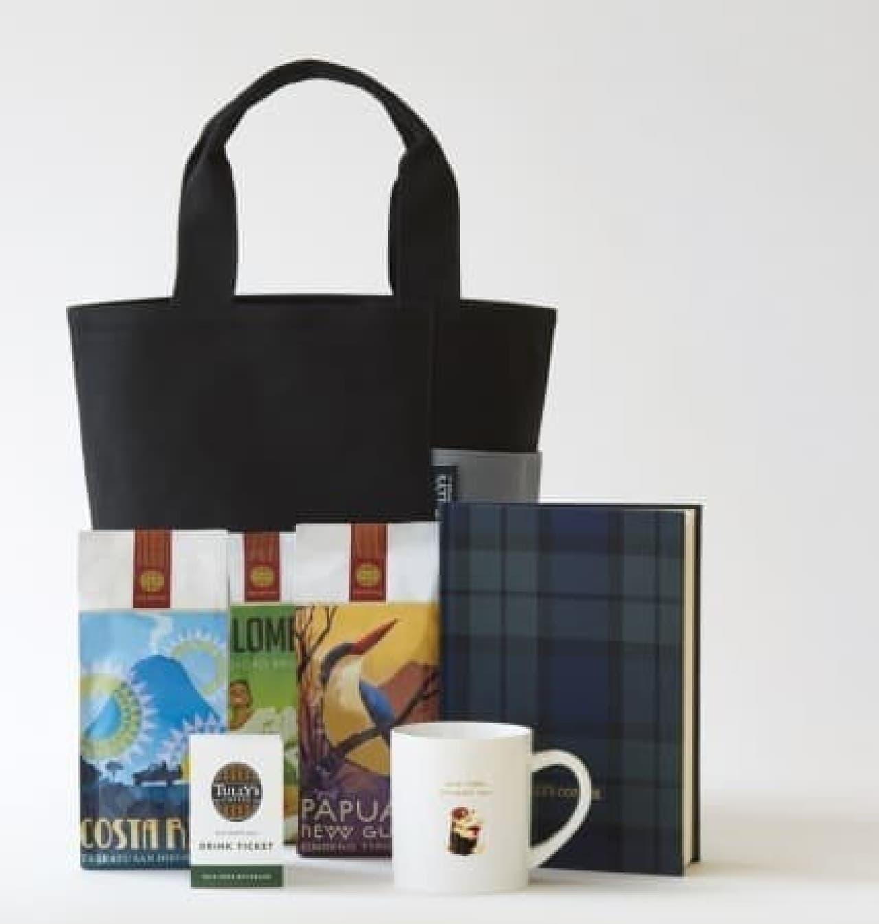タリーズコーヒーの福袋「2018 HAPPY BAG」