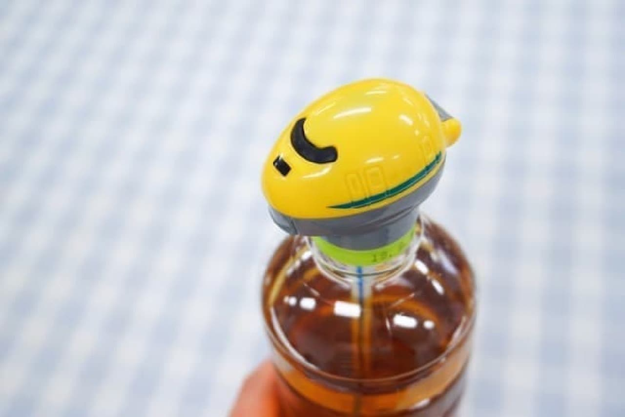 ダイソーの新幹線ペットボトルキャップ