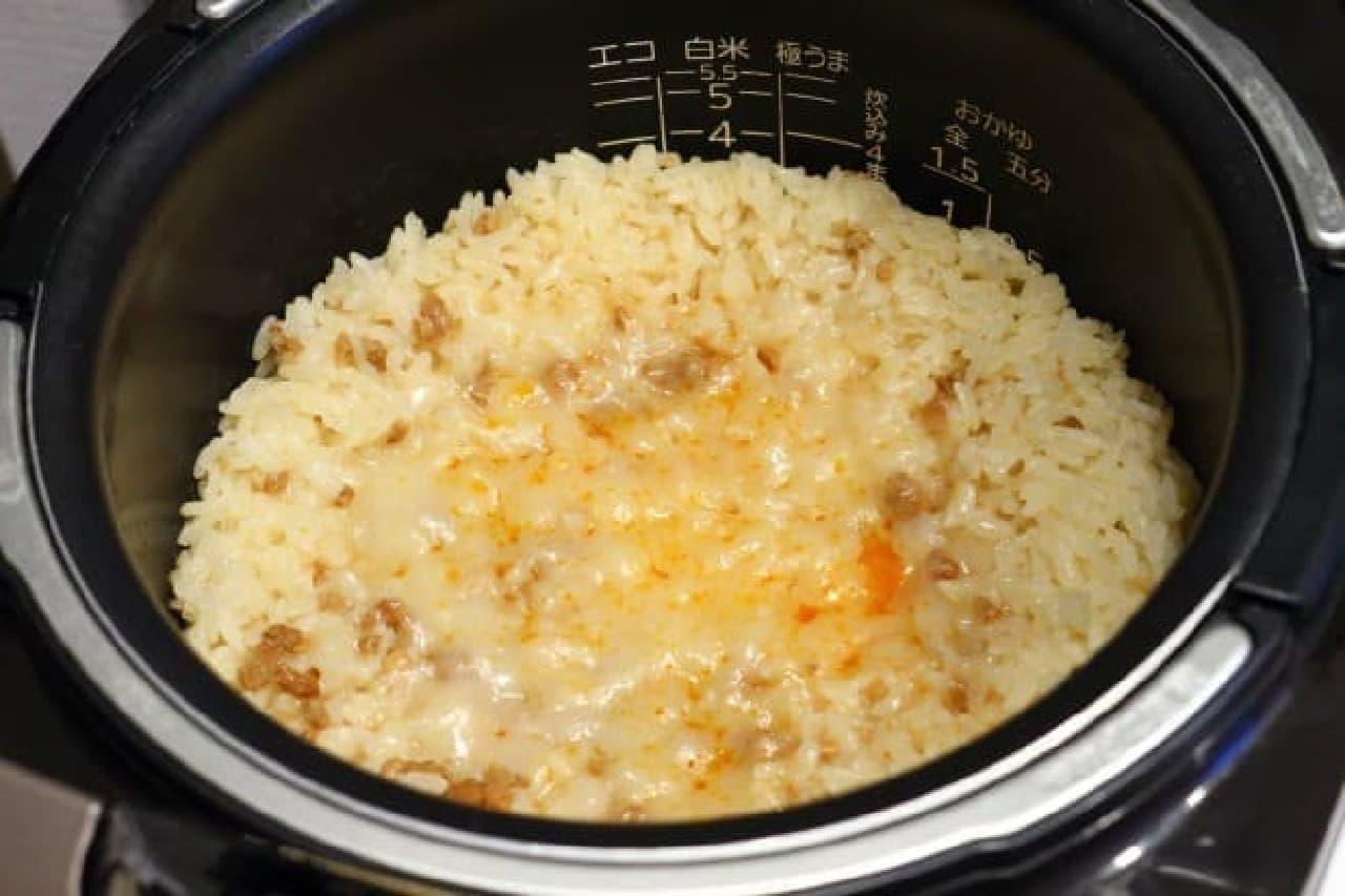 中華風おこわのレシピ
