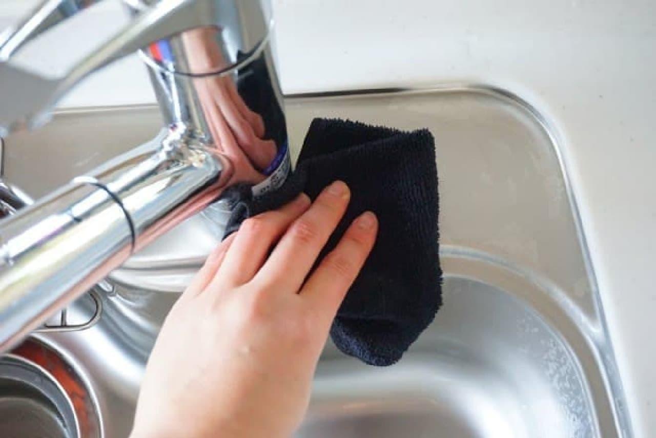 キッチンリセットの方法と洗剤