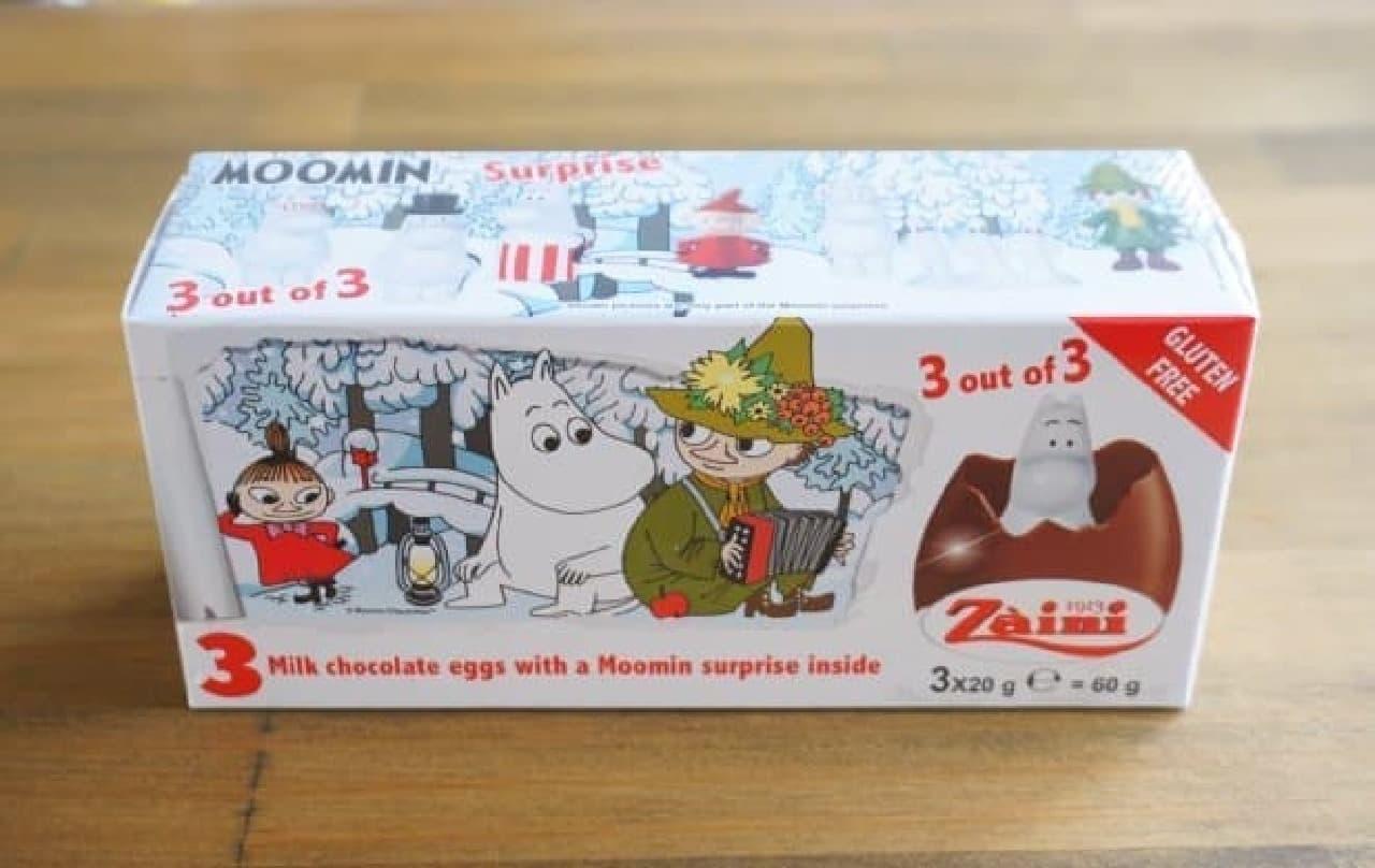 ザイーニ ムーミンチョコレートエッグ