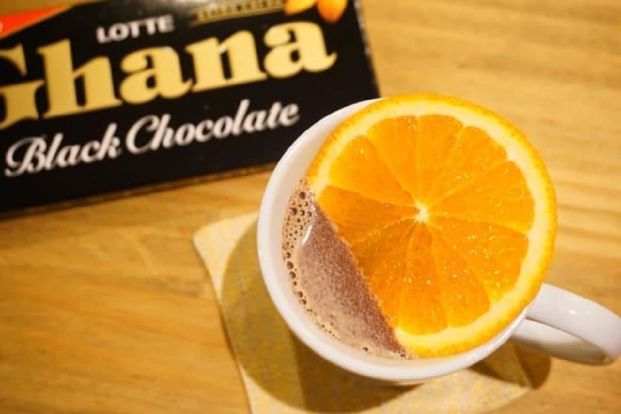 ガーナのホットチョコレートレシピ
