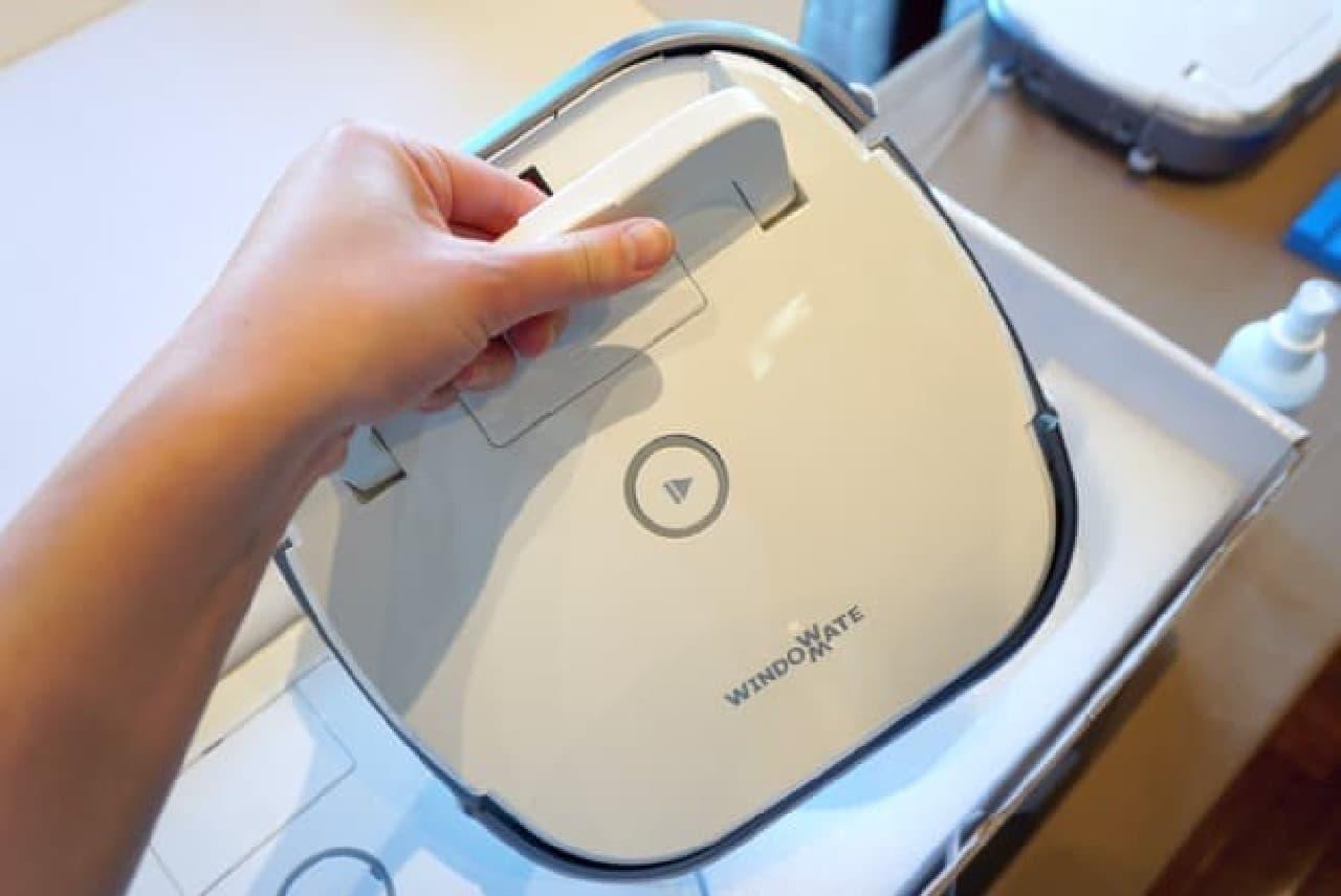 窓掃除ロボット「ウインドウメイト」