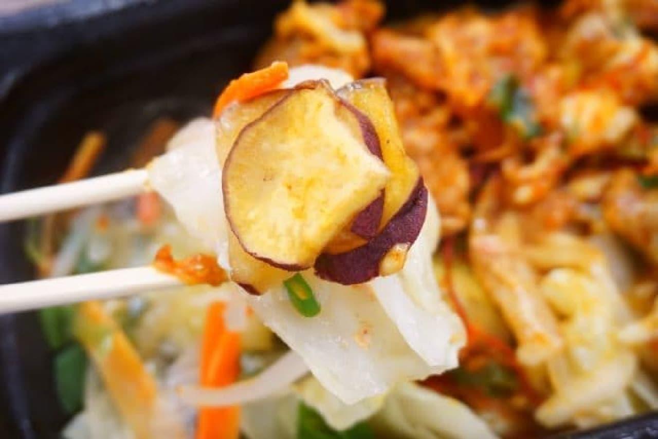 成城石井「5種野菜のピリ辛チーズタッカルビ」