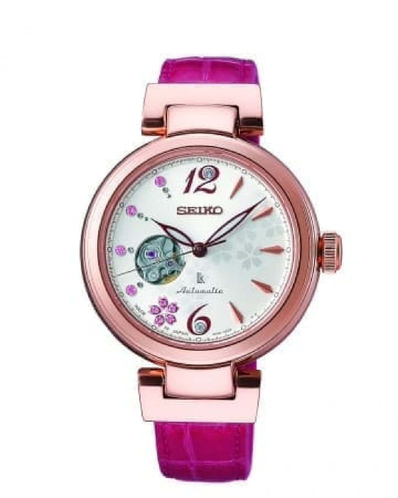 桜をデザインしたセイコーの腕時計「2018 SAKURA Blooming 限定モデル」