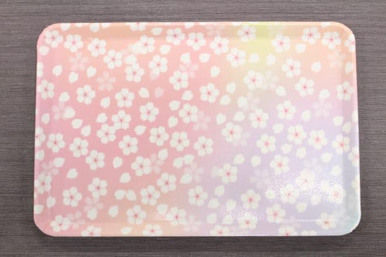 キャンドゥ 桜トレイ