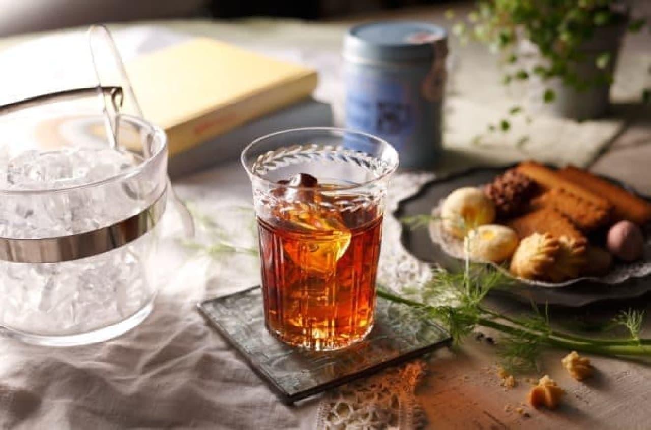 養命酒酒造「桃の紅茶酒」