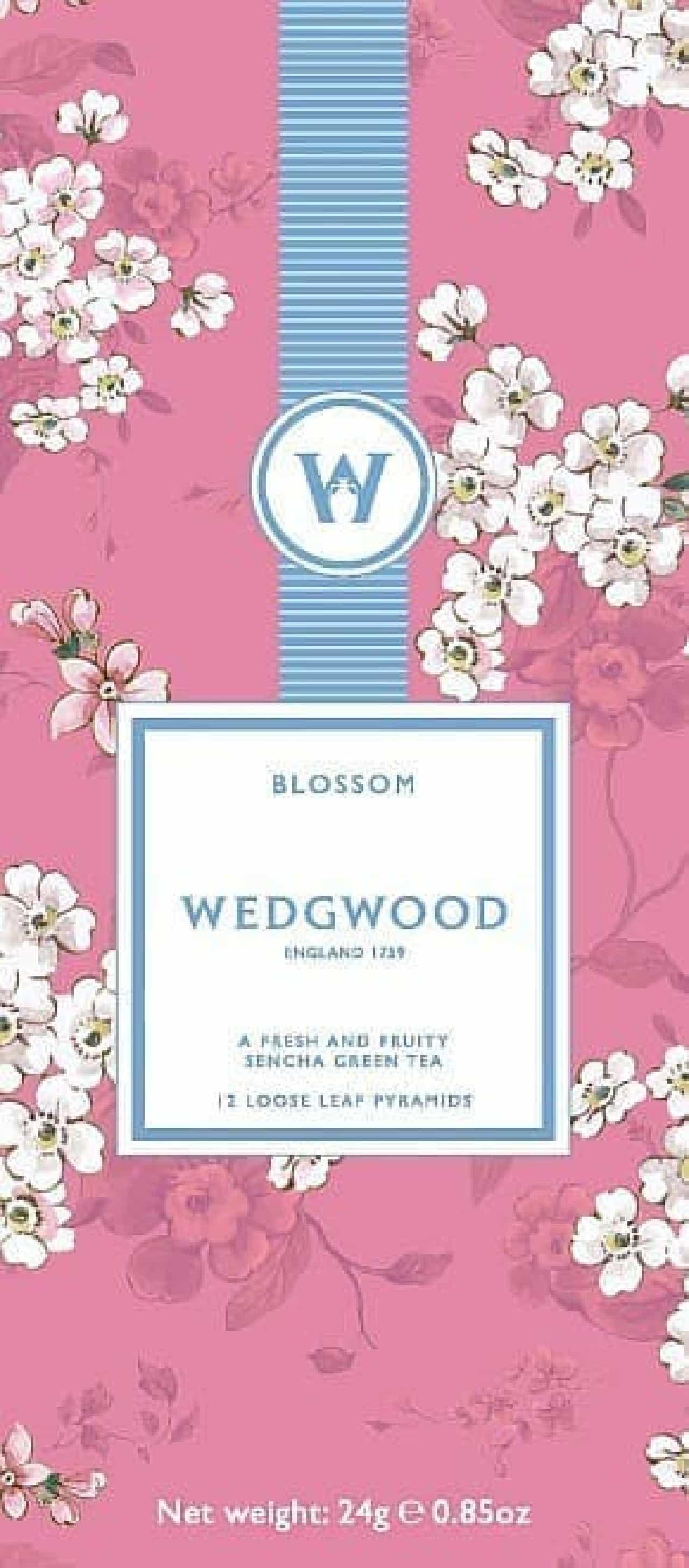 ウェッジウッドから、季節を楽しむお茶「ウェッジウッド ブロッサム」