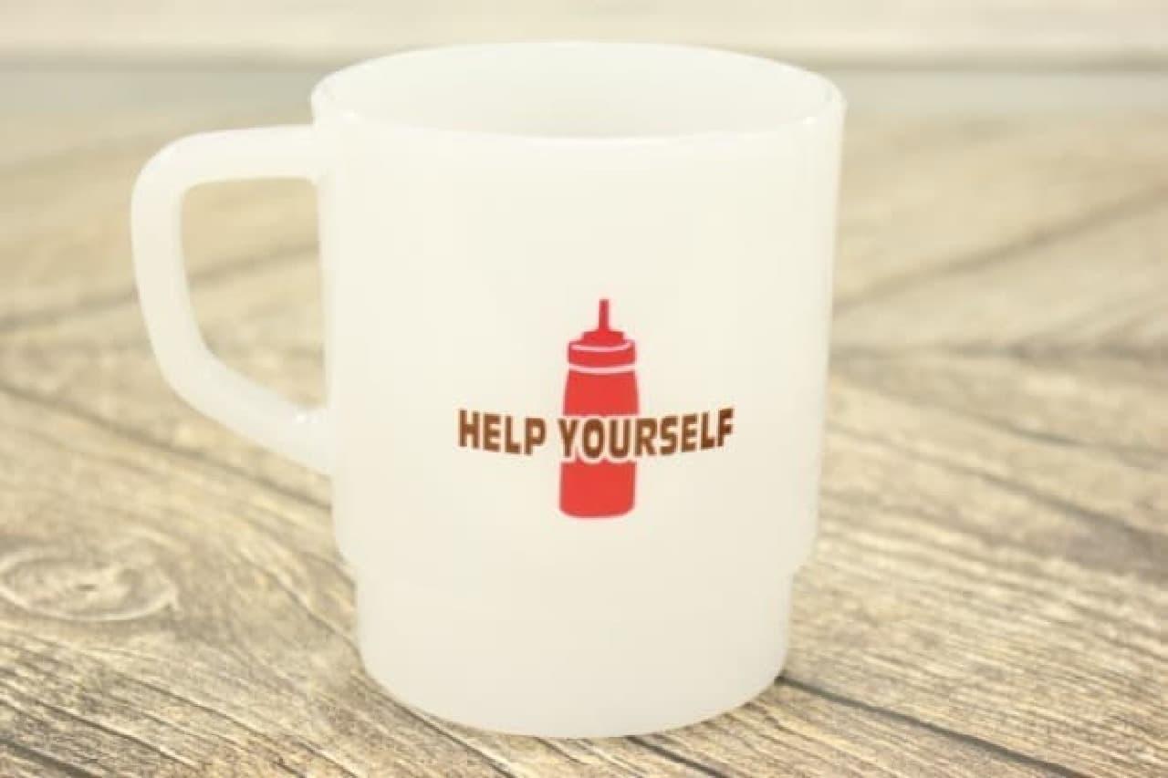 ダイソー「アメリカンPOPプラマグカップ」