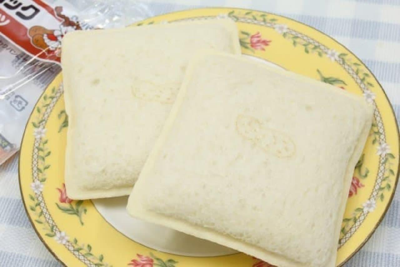 山崎製パンのランチパック、ナイススティック、コッペパン、チョコチップスナック、ホワイトデニッシュショコラ