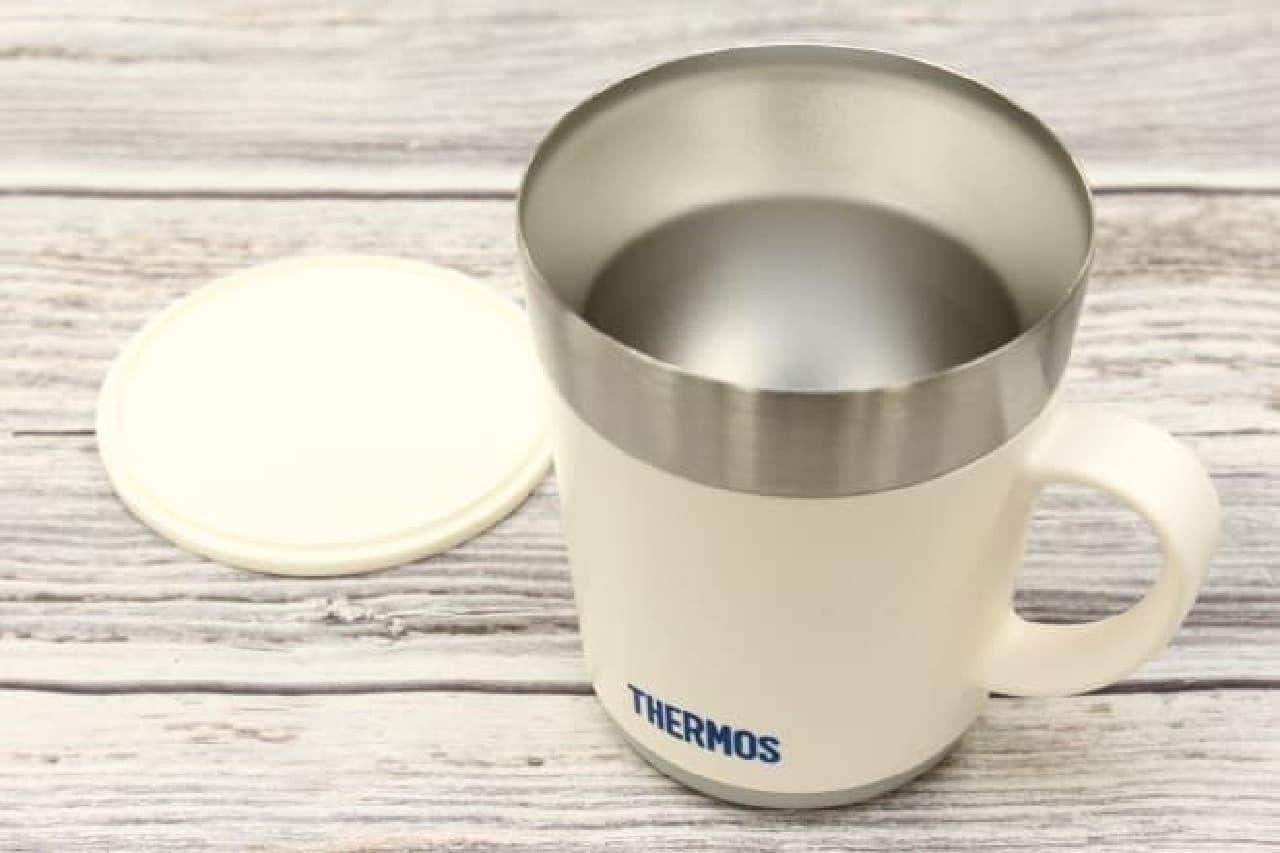 サーモスの保温マグカップ