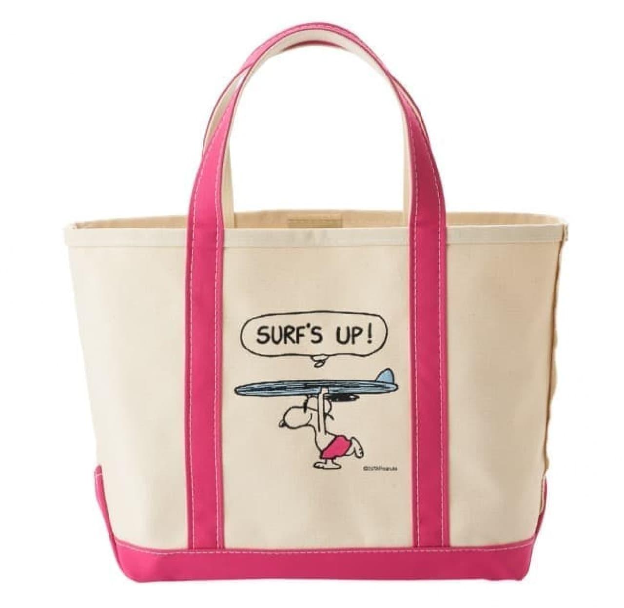 スヌーピーとコラボした「L.L.Bean」のトートバッグがPLAZAに