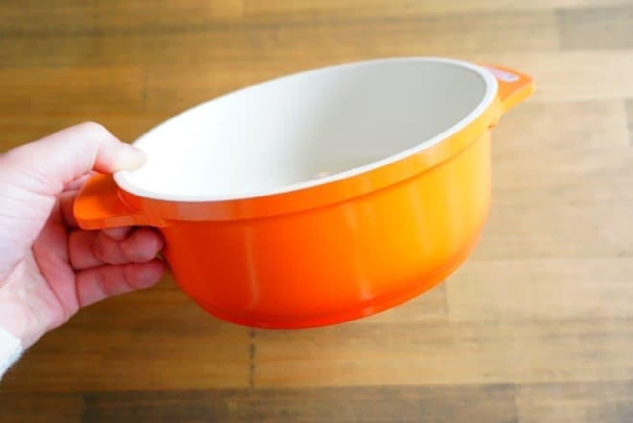 イオン「HOME COORDY 電子レンジも使えるセラミックコート鍋」