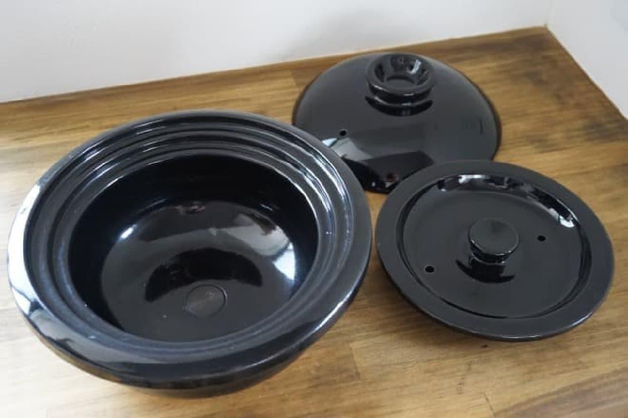 土鍋ご飯が炊ける炊飯器「かまどさん電気」