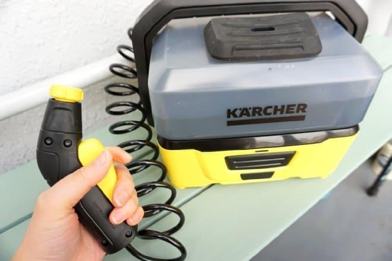 ケルヒャー家庭用洗浄機「OC3」