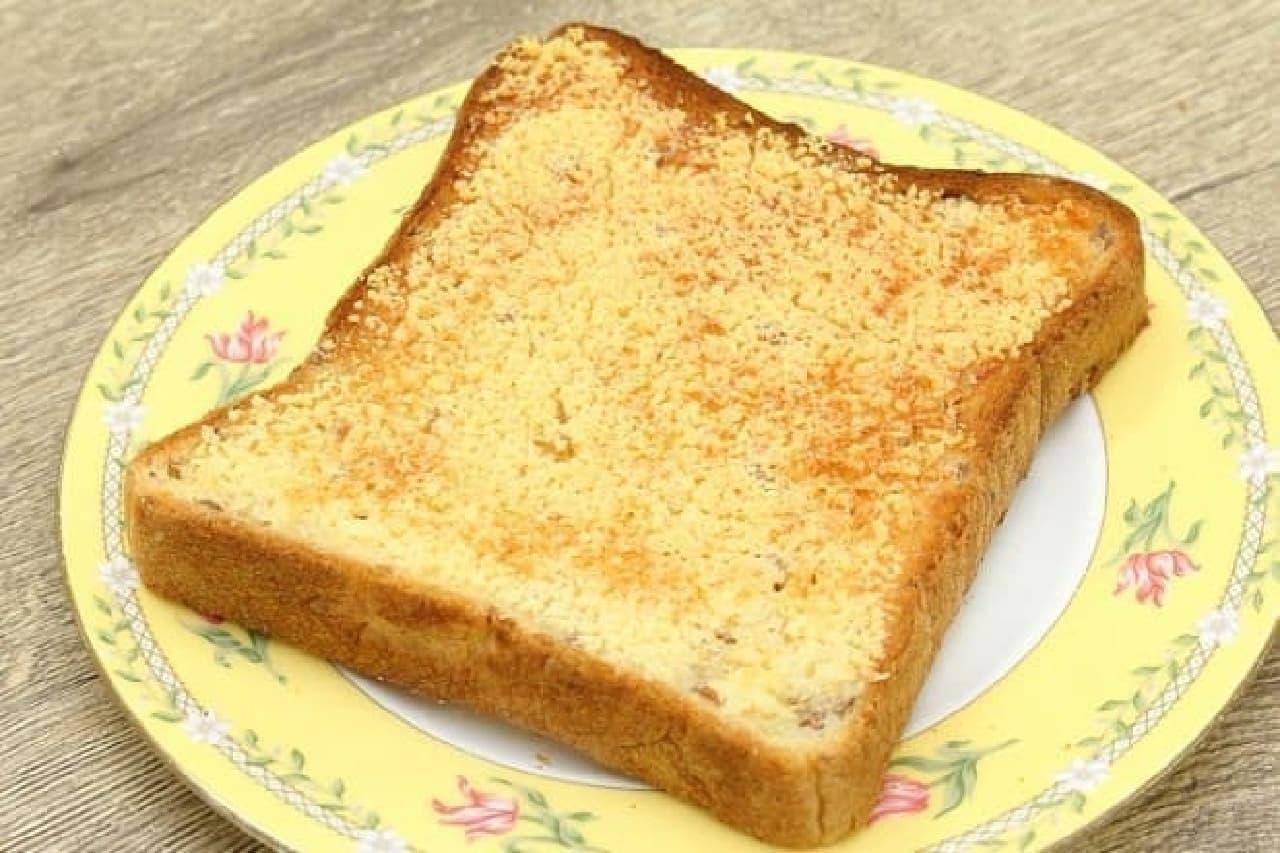 粉チーズとマヨネーズ、食パンでできるサクサク香ばしいトーストのレシピ