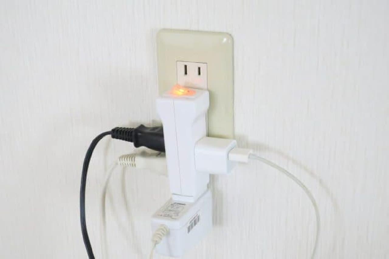 ダイソー 節電タップ