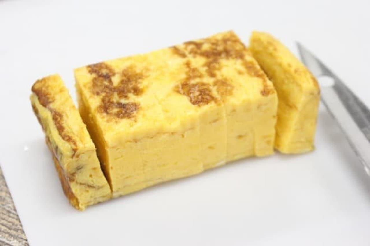 セブン商品で厚焼き玉子サンド