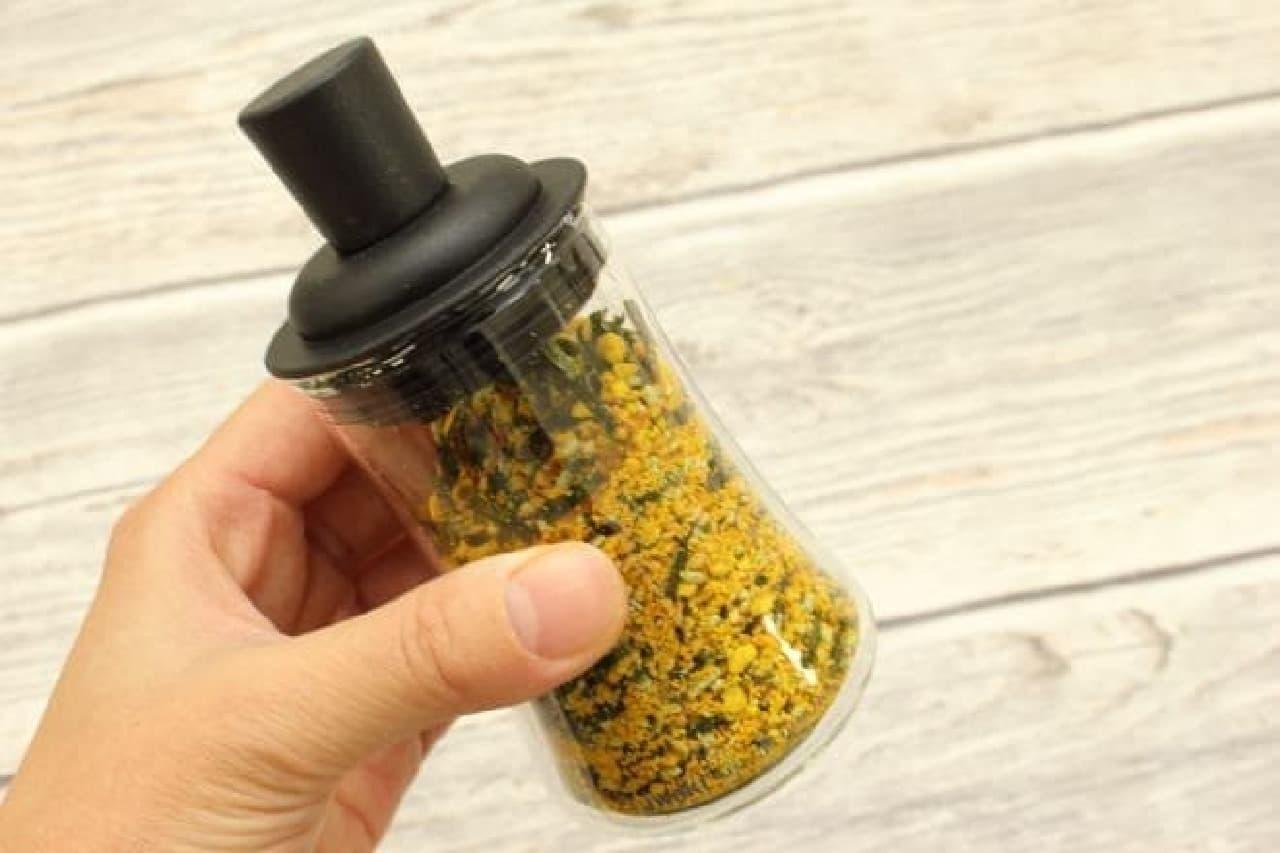 ふりかけ保存の容器「iwaki ふりかけボトル」